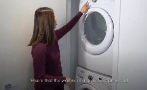 Condo Inspection Washer and Dryer Connection