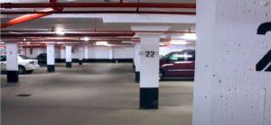 Bradford Home Inspections Underground Commercial parking garage