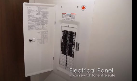 Condo Inspection of Electrical Panel